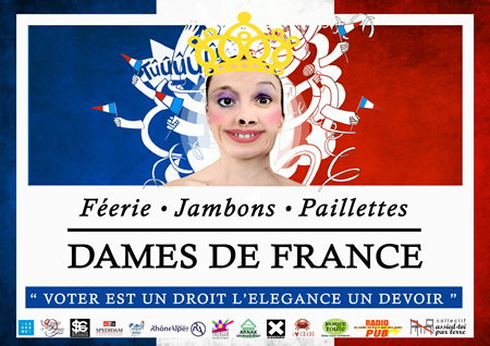 Spectacle : Les Dames de France